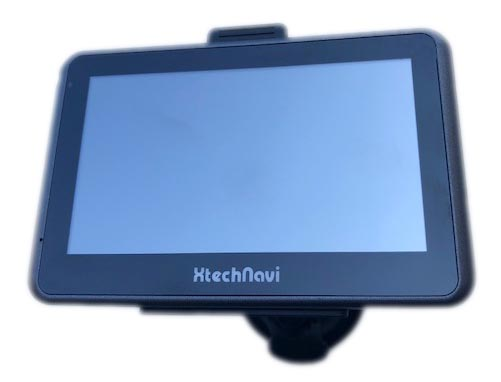 "GPS navigace Xtech7054 7"" s Android, BT, WiFi 16GB"